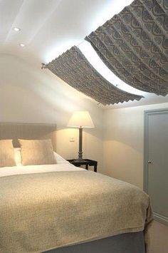 Sophia Jameson interiors Windows, Decor, Window Treatments, Furniture, Bed, Home, Interior, Home Decor