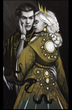 Darkling and Alina Better to be feared than loved, but never hated.
