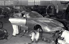 The making of a Shelby Cobra Daytona Coupe - circa 1964