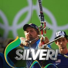 USA Archery takes silver in Men's Team Archery! #Rio2016