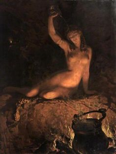 """An Incantation"" by John Collier"