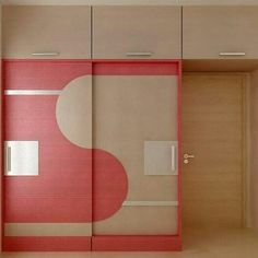 Sliding Wardrobe Designs, Wardrobe Design Bedroom, Bedroom Cupboard Designs, Bedroom Cupboards, Wooden Wardrobe, Wardrobe Doors, Home Room Design, Living Room Designs, Bedroom False Ceiling Design