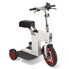 YESSS! Love it. The Foldaway Electric Chariot - Hammacher Schlemmer