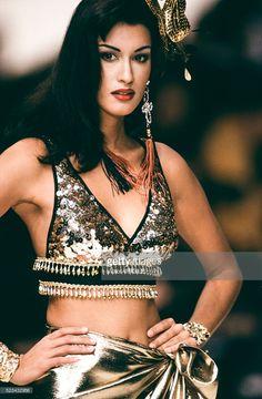 Yasmeen Ghauri fir Yves Saint Laurent RTW, Spring 1993