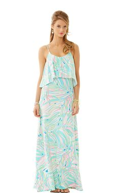Lilly Pulitzer Harrington Maxi Dress in Salute