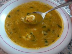 Cocina – Recetas y Consejos Chowder Soup, Spanish Food, Food N, Empanadas, Creme, Yummy Food, Cooking, Healthy, Ethnic Recipes