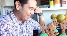 Now step back and admire your creation. | These Adorable Dancing Baby Groot Cupcakes Are Actually Super Easy To Make