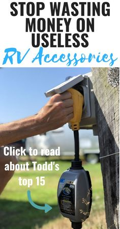 Camping Must Haves Discover 15 Must-Have RV Accessories for Sewer Water and Electric in 2020 How Do I Know What I Really Need to Buy for My RV? Here are the top 15 must have RV accessories we recommend and use daily on our RV travels. Camping Hacks, Camping Diy, Camping Must Haves, Rv Camping Checklist, Rv Camping Tips, Travel Trailer Camping, Camping Supplies, Camping Stove, Rv Travel