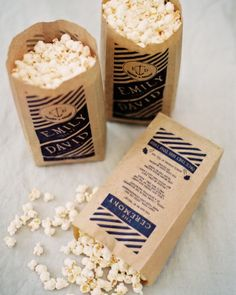 popcorn ceremony programs