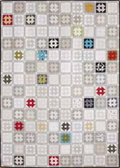 My Little Churn Dash. Designed and pieced by Mary Fons, quilted by LuAnn Downs. Why quilts still matter.you can't wrap a baby in an I-pad! Quilting Tutorials, Quilting Projects, Quilting Designs, Quilting Tips, Scrappy Quilts, Baby Quilts, Patch Quilt, Quilt Blocks, Low Volume Quilt