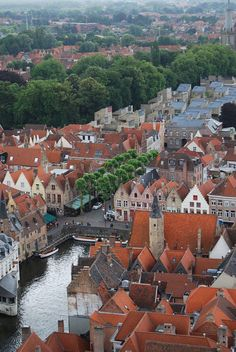 """Bruges, or Brugge, how it's called in Belgium. It is named """"the Venice of the North"""" and this medieval city is one of Belgium's crown jewels."""