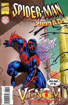 Spider-Man 2099 (Nov Marvel) for sale online Dc Comics Art, Marvel Dc Comics, Comic Book Covers, Comic Books, Marvel 2099, Spiderman, Marvel Comic Character, Classic Comics, Disney Marvel