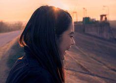 Sunset laugh