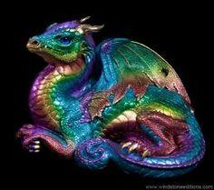 Old Warrior Dragon - Rainbow