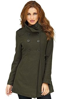 78. Love pea coats and military inspired fashion.