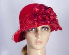 Chapeau d'hiver rouge