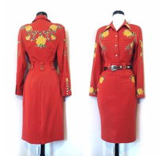 RESERVED until 11.23 // Vintage 1940 Rodeo queen by VoodooRetro