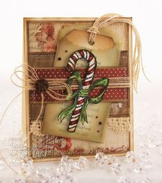 Christmas Gingerbread Biscuits, Milk Mug, Candycanes Wallpapers) – Free Wallpapers Christmas Paper Crafts, Homemade Christmas Cards, Christmas Cards To Make, Christmas Tag, Xmas Cards, Christmas Projects, All Things Christmas, Homemade Cards, Handmade Christmas
