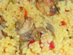 Cuscus cu ciuperci, poza 1 Raw Vegan Recipes, Healthy Diet Recipes, Healthy Meal Prep, Baby Food Recipes, Vegetarian Recipes, Cooking Recipes, Vegetable Dishes, Vegetable Recipes, Good Food