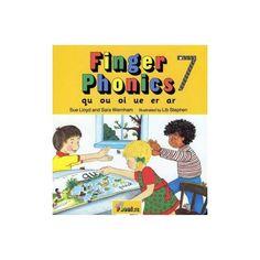 Finger Phonics 7 Jolly Phonics