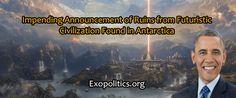 Noticia Final: Anúncio iminente de ruínas de civilização futuríst...