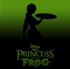 Disney Silhouette Posters: The Princess & the Frog