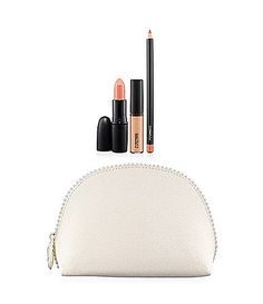 MAC Keepsakes/Nude Lip Bag #Dillards