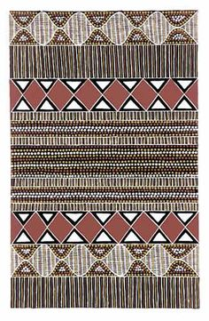 Tiwi Motif IV...Tiwi Art - Paintings from the Tiwi Islands