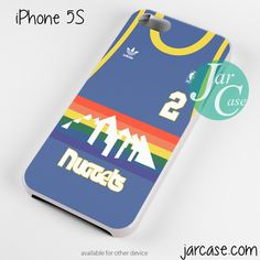 nuggets basketball jersey Phone case for iPhone 4/4s/5/5c/5s/6/6 plus