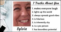 What Are 7 Truths About You?