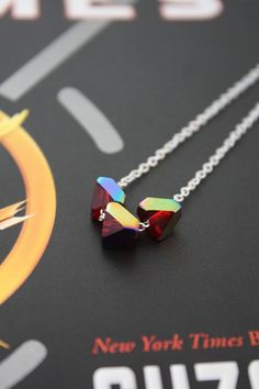 Girl on Fire necklace - The Hunger Games
