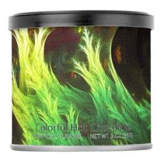 #A Seaweed's DeepDream of Faded Fractal Fall Colors Powdered Drink Mix - #Chocolates #Treats #chocolate