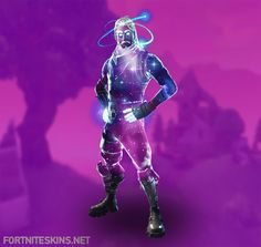 The Galaxy is the name of one of the epic male skin outfits for the game Fortnite Battle Royale. Outfits change the appearance of the player, but do not Epic Games Account, Epic Games Fortnite, Reaper Skins, Ps4, Galaxy Outfit, Epic Fortnite, Nintendo, Pokemon, Battle Royale