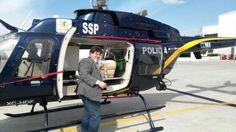 PILOTOS DE LA SSP-CDMX TRASLADAN UN HÍGADO PROCEDENTE DE MONTERREY