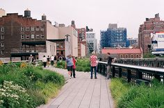 high line, just visited the expanded part on saturday....awesomer and awesomer