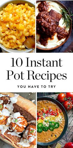 10 Instant Pot Recipes That Prove It's the Most Fantastic Cooking Gadget Ever via @PureWow via @PureWow