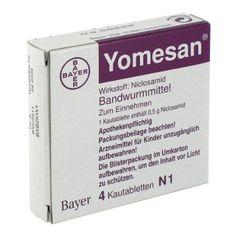 YOMESAN 500 mg Kautabletten 4 St