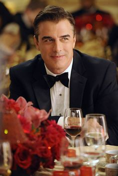 This is some good eye candy-Chris Noth as Mr.Big in Sex & the City Chris Noth, Chris Pratt, Chris Evans, Mr Big, Christoph Waltz, Christian Bale, Chris Pine, Chris Hemsworth, Gorgeous Men