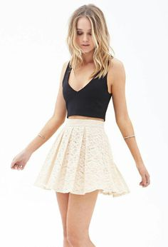 Really like short skater skirts like these.