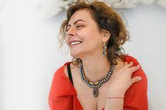 Smiles and necklaces – Alex Gurau Photo Female Portrait, Fashion Necklace, Turquoise Necklace, Portraits, Necklaces, Smile, Women, Head Shots, Portrait Photography