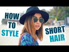 How To Style Short Hair - Straight & Curly Hairstyles! - http://47beauty.com/hair-tutorials/how-to-style-short-hair-straight-curly-hairstyles/ https://www.avon.com/category/bath-body/hair-care?repid=16581277 Shop Hair Care Products  Hi beautiful people!! Today I'm showing you how I style my short hair! Let me know if this helps you and if you try these out 🙂  LET'S GET THIS TO 5,000 LIKES? YAY! Also, check out all my vlogs from my recent trip to California: