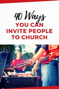 Invite someone to church! One of the primary reasons every church exists is to share and live the Gospel and invite people to join His kingdom. Here are 40 creative church outreach ideas for you to try. Church Ministry, Youth Ministry, Ministry Ideas, Kids Church, Church Ideas, The Church, Ministry Leadership, Church Outreach, Mission Projects