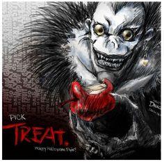 Ryuk from Death Note {anime, manga, otaku, demon, Halloween}