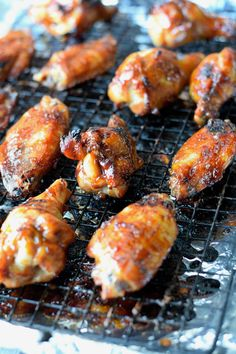 Teriyaki Chicken Wings Recipe-Butter Your Biscuit Teriyaki Chicken Wings, Baked Chicken Wings, Chicken Wing Recipes, Teriyaki Sauce, Chicken Thighs, Chicken Ideas, Chicken Breasts, Raw Food Recipes, Mexican Food Recipes