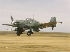 Stuka low pass. A Tank buster configuration with two 30MM cannons under the wings.