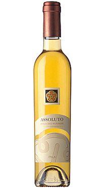 Pala Assoluto dessert wine (Sardinia, Italy) 80% Nasco. 20% Vermentino #wine #sardinia #italy