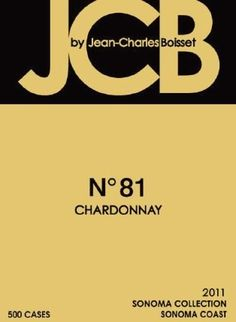 2011 JCB No 81 Sonoma Coast Chardonnay mL ** Check out the image by visiting the link. Sonoma Coast, White Wines, Sauvignon Blanc, Image Link, Check