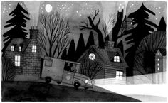 Original Art by Carson Ellis from the book, Wildwood by Colin Meloy