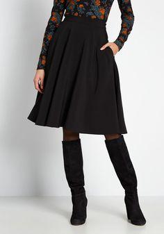 A Line Skirts, Mini Skirts, Women's Skirts, A Line Skirt Outfits, Luanna, Black Midi Skirt, Black A Line Skirt, Draped Fabric, Couture
