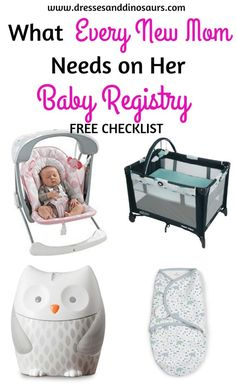Baby Registry Must-Haves for New Moms - Dresses and Dinosaur.- Baby Registry Must-Haves for New Moms – Dresses and Dinosaurs What Every New Mom Needs on Her Baby Registry Checklist – Dresses and Dinosaurs - Best Baby Registry, Baby Registry Items, Baby Registry Must Haves, Baby Registry Checklist, Baby Must Haves, Baby Items, Babies R, Preparing For Baby, Before Baby